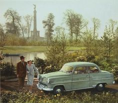 Opel Olympia Rekord - Der Einstiegspreis für die Mittelklasselimousine lag bei 6250 Mark.