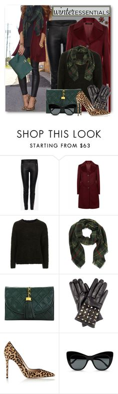"""""""Winter Scarf Style"""" by brendariley-1 ❤ liked on Polyvore featuring Alexander McQueen, Jaeger, Topshop, Chanel, Valentino, Gianvito Rossi, STELLA McCARTNEY, Winter and scarf"""
