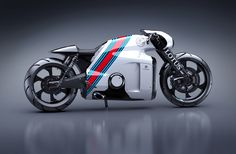 "C-01 Lotus superbike by ""TRON"" concept designer Daniel Simon"