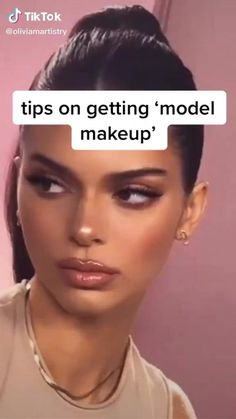 tips on getting model makeup - makeup art - Kendall Jenner Makeup Tutorial, Kendall Jenner Make Up, Kendall Jenner Nails, Kendall Jenner Modeling, Contour Makeup, Skin Makeup, Makeup For Acne, Makeup Eyeshadow, Eye Makeup Art