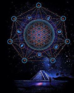 ❤️~Geometría Sagrada~❤️                                                                                                                                                      Más