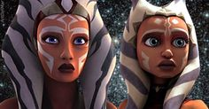 Ahsoka Tano | Now and Then<<<<Honestly the art change does not excuse the fact Rebels!Ahsoka barely resembles her Clone Wars counterpart. It should not be this drastic.