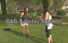 The Bold and the Beautiful (B&B) spoilers for Tuesday, August 2, tease that Steffy (Jacqueline MacInnes Wood) will erupt over what she just witnessed.