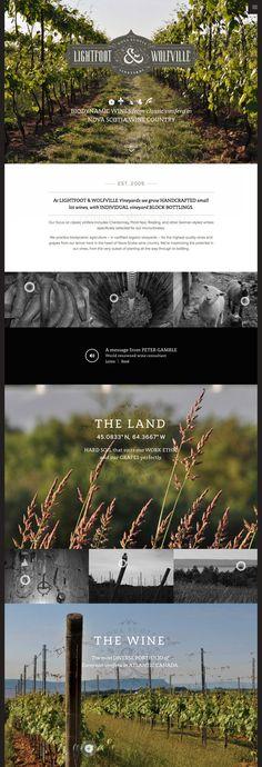 Cool #Web #Design, Lightfoot & Wolfville. #webdesign #webdevelopment [http://www.pinterest.com/alfredchong/] #pikock www.pikock.com #ui