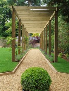 Royal Walkway Pergola (7.2m x 2.4m)