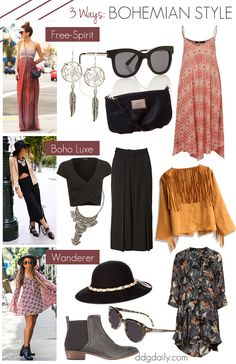 Boho outfits: 3 ways to rock bohemian style this Summer
