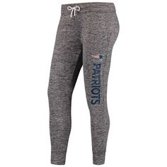 New England Patriots G-III 4Her by Carl Banks Women's Sideline Skinny Pant - Gray