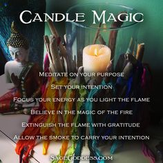 Candle magic is as ancient as time. It takes nothing more than your chosen candle, a flame, and the power of your intention to invoke its power. What's your favorite magic to practice?