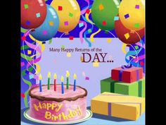 Tons of original video to congratulate your WhatsApp contacts, Facebook, Twitter, etc ... copy its URL and congratulate share with a Happy Birthday Video