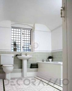 #tiles #bathroom #interior #decor #design  Настенная плитка Minton Hollins Studio Collection, PRG1