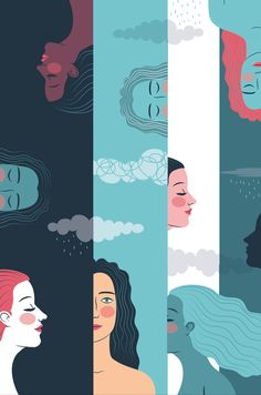 """How to sharpen your intuition - Illustrations for """"O"""" the Oprah magazine 