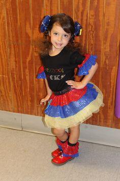 Back to school OOC Themewear #crystals #Preschool Rocks #pageant #glitz