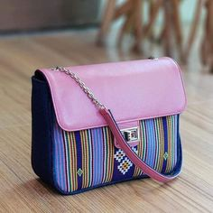 8ff5ccf2463ee Ethnic Woven Bag Combination Of Genuine Leather. From NTT.- Free Shipping.   fashion  clothing  shoes  accessories  otherclothingshoesaccessories (ebay  link)