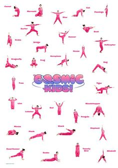 From frog to flamingo, our free Posture Poster is a great fun way to try lots of kids' yoga poses! Print it to put on your wall at school, in class or at home!