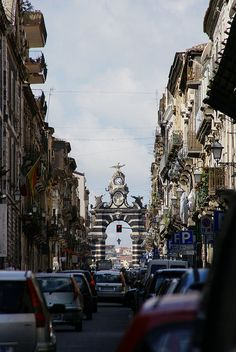 Catania, Via Garibaldi, Porta Garibaldi (Garibaldi Gate) | Flickr - Photo Sharing!
