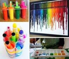 color activities for the kids