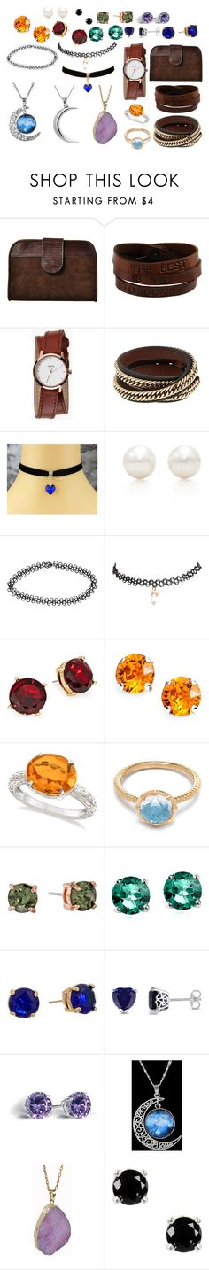 """Jewelry"" by mirielanarion on Polyvore featuring moda, Saddlers Union, Nixon, Givenchy, Tiffany & Co., Boohoo, Wet Seal, Lauren Ralph Lauren, L. Erickson i Allurez"