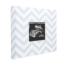 Chevron Paper, Grey Chevron, Gray, Photo Album Display, Baby Frame, Baby Ornaments, Baby Album, Pregnancy Gifts, Baby Memories