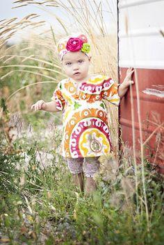 Reversible Summer Tunic / Dress by hflyntpierce