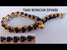Beaded Bracelets Tutorial, Seed Bead Bracelets, Handmade Bracelets, Handmade Jewelry, Seed Bead Tutorials, Jewelry Making Tutorials, Beaded Jewelry Patterns, Bracelet Making, Jewelry Crafts