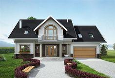 Plane,Projekte dhe Ndertim per shtepi Modern Cottage Style, Modern Bungalow House, Bungalow Exterior, Duplex Design, Modern House Design, Cottage House Plans, Dream House Plans, Home Building Design, Building A House