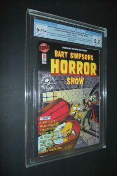Horror Show, Bart Simpson, Baseball Cards, Wine