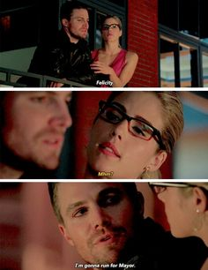 That laugh out loud moment at the end of this episode. Oliver Queen as mayor. Yeah. Okay.