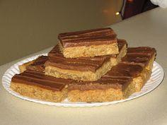 Mel's Kitchen: School Lunch Peanut Butter Bars