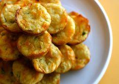 Yum! Cheddar and jalepeno cornbread muffins