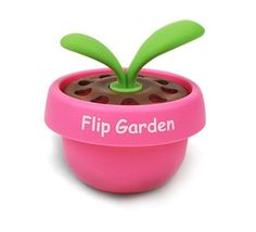 Fouring Car Vechicle Home Office Toilet Air Freshener Flip Garden Baby Pink #Fouring
