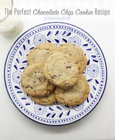 Lauren Conrads Perfect Chocolate Chip Cookie Recipe