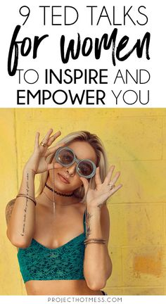 If there's one thing that can inspire and empower you like nothing else it's a good TED Talk, one that gets you thinking and challenging your point of view. Love it. These are 9 TED Talks for women that range from what we think of our selves through to our place in the world. All must watch talks you'll love. #tedtalks #inspiring #motivation #selfconfidence