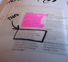 Take Notes in Borrowed Books with Sheer Post-its