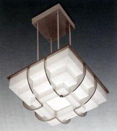 Ceiling light Jean Perzel Paris