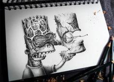 Los detallados dibujos a lápiz de Pez | TodoGraphicDesign