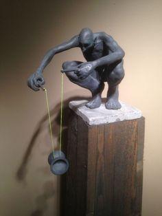 Bronzen beeld - voor meer info, klik op het werk