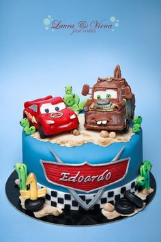 cars - Cake by Laura e Virna just cakes More
