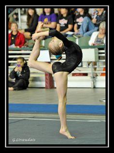 plus 0/1 gymnastics competition, gymnast, floor routine, Maddie Gymnastics 01 by ~Kicks02 on deviantART