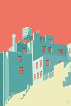 the Village NYC 2012 -2013 - Remko Heemskerk | Illustrator | Digital Artist