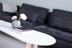 Living room table // Monique Lund // interior // scandi // minimalistic