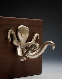 Towel hooks for the kids' octopus bathroom Beach Condo, Beach House, Octopus Art, Angry Octopus, Octopus Bathroom, Towel Hooks, Kraken, Tentacle, Beach Cottages