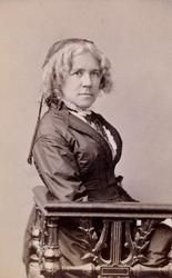 "Maria Mitchell (1818 - 1889), Scientist, ""There is no cosmetic for beauty like happiness.'"
