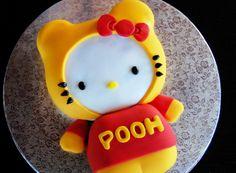 Winnie the Pooh Hello Kitty