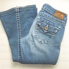 """TRUE RELIGION JEANS EUC. 32"""" inseam. True Religion Jeans Flare & Wide Leg"""