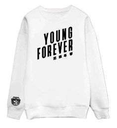 Amazon.com : KPOP BTS Young Forever Sweater Suga Jimin V Rap-Monster Pullover Sweatshirt : Sports & Outdoors
