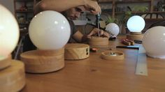 Lightest: the levitating lamp you can customize with 3D printing