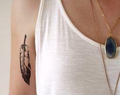 Arrow temporary tattoo / arrow tattoo / boho by Tattoorary on Etsy