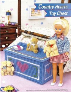 Toy Chest Plastic Canvas Pattern