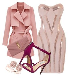 """""""Untitled #8"""" by missamy227 on Polyvore featuring Yves Saint Laurent and Steve Madden"""