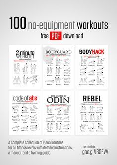 The BEST website for free workout information - excercises, nutrition, recepies...
